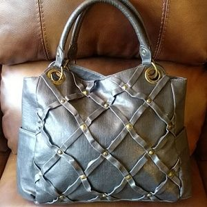 ROXY Faux Leather Tote